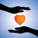 Предохранение от сердца от заболеваний & графика болезни Стоковая Фотография