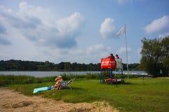 Предохранитель жизни озером Стоковое фото RF