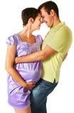 предпологать пар младенца Стоковые Изображения