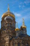 Предположение благословленной церков Mary девственницы - Санкт-Петербурга Стоковое Изображение