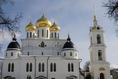 1507 1533 предположений построили леты собора Кремль в Dmitrov, древнем городе в области Москвы Стоковое фото RF