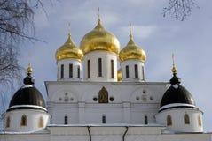 1507 1533 предположений построили леты собора Кремль в Dmitrov, древнем городе в области Москвы Стоковые Фото