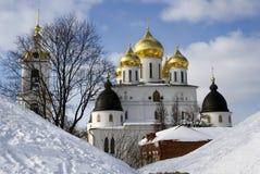 1507 1533 предположений построили леты собора Кремль в Dmitrov, древнем городе в области Москвы Стоковое Изображение RF