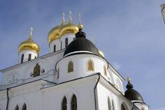 1507 1533 предположений построили леты собора Кремль в Dmitrov, древнем городе в области Москвы Стоковые Изображения RF