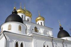 1507 1533 предположений построили леты собора Кремль в Dmitrov, древнем городе в области Москвы Стоковые Фотографии RF