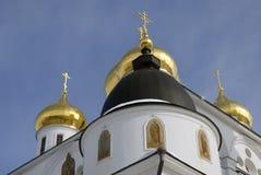 1507 1533 предположений построили леты собора Кремль в Dmitrov, древнем городе в области Москвы Стоковое Изображение