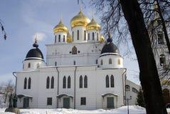1507 1533 предположений построили леты собора Кремль в Dmitrov, древнем городе в области Москвы Стоковые Изображения