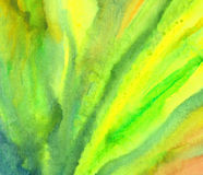Предпосылка - абстрактная картина watercolour Стоковые Фото