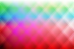 Предпосылка абстрактного вектора красочная затеняемая с нерезкостью выравнивает 3 влияния d Стоковое Фото