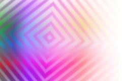 Предпосылка абстрактного вектора красочная с линиями нерезкости Стоковое Фото