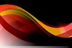 Предпосылка абстрактного вектора пестротканая волнистая, вектор Стоковые Изображения