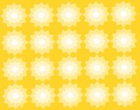 Предпосылка абстрактного геометрического patternwith желтая иллюстрация вектора