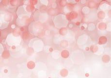 Предпосылка абстрактного красного bokeh светлая с любовью рождества иллюстрация штока