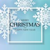 Предпосылка абстрактного Нового Года праздника и веселого рождества также вектор иллюстрации притяжки corel стоковое изображение rf