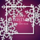 Предпосылка абстрактного Нового Года праздника и веселого рождества также вектор иллюстрации притяжки corel стоковые фотографии rf