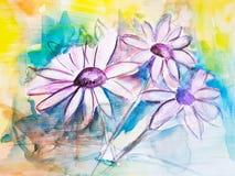 Предпосылка абстрактного цветка стоцвета крася asama бесплатная иллюстрация
