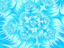 Предпосылка абстрактного aqua голубая белая Картина рождества Звезды и снежинки Стоковые Изображения