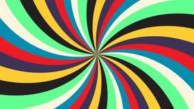 Предпосылка абстрактной текстуры луча радуги праздничная вектор eps10 красочного телевидения предпосылки радуги винтажный иллюстрация штока