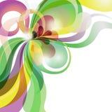 Предпосылка абстрактной темы влюбленности цветастая праздничная Стоковая Фотография RF