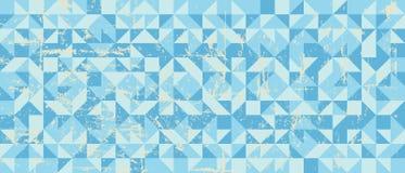 Предпосылка абстрактных семидесятых годов ретро с grungy текстурой иллюстрация вектора