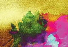 Предпосылка акварели абстрактная стоковое фото rf