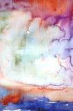 Предпосылка акварели абстрактная Стоковое Изображение RF