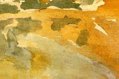 Предпосылка акварели абстрактная Стоковое Изображение