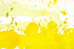 Предпосылка акварели абстрактная Стоковая Фотография