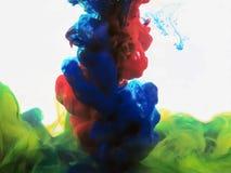 предпосылка акварели для рисовать и красить и иллюстрации Стоковые Изображения RF