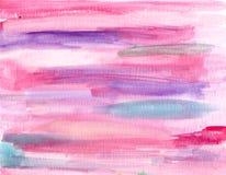 Предпосылка акварели пастельная colroful, ярлыки Стоковая Фотография RF