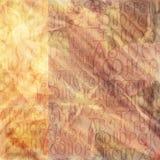 предпосылка алфавита античная Стоковое Изображение