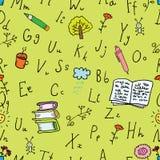 предпосылка алфавита Стоковая Фотография RF