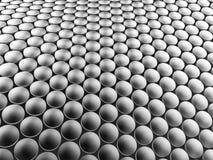 Предпосылка алюминиевой конструкции дисков волнистая иллюстрация 3d Стоковое Изображение