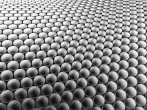 Предпосылка алюминиевой конструкции дисков волнистая иллюстрация 3d Стоковые Фото