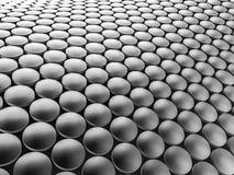 Предпосылка алюминиевой конструкции дисков волнистая иллюстрация 3d Стоковые Изображения RF