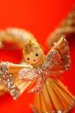 предпосылка ангела немногая красное Стоковая Фотография