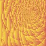 Предпосылка апельсина фрактали Стоковая Фотография