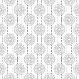 Предпосылка арабской картины безшовная Геометрический мусульманский фон орнамента Серая иллюстрация исламской текстуры иллюстрация вектора