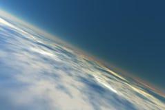 предпосылка атмосферы Стоковая Фотография