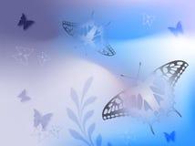 Предпосылка бабочек Бесплатная Иллюстрация