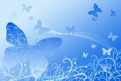Предпосылка бабочки Стоковые Фотографии RF