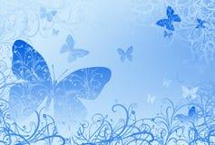 Предпосылка бабочки Стоковое Фото
