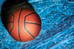 Предпосылка баскетбола естественная острая мраморная никто стоковые изображения rf