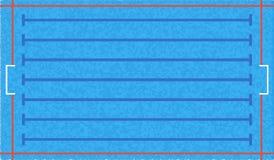 Предпосылка бассейна водного поло вектор экрана иллюстрации 10 eps Стоковые Фотографии RF