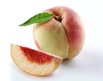 Предпосылка белизны персика стоковые фото
