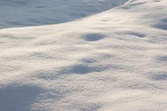 Предпосылка белизны снежка Стоковые Изображения RF