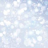 Предпосылка белого рождества Стоковые Изображения RF