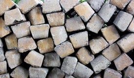 Предпосылка бетона слипера железной дороги не использована стоковое фото rf