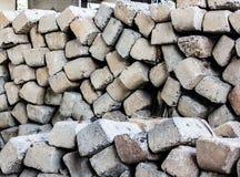 Предпосылка бетона слипера железной дороги не использована стоковые изображения rf