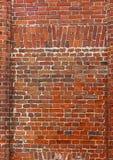 Предпосылка блока старая кирпичная стена красных кирпичей Стоковые Фотографии RF